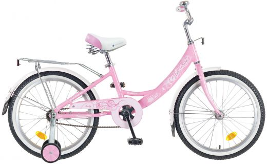 """Велосипед для девочки NOVATRACK Girlish Line 16"""" 20"""" 1 (2016)"""